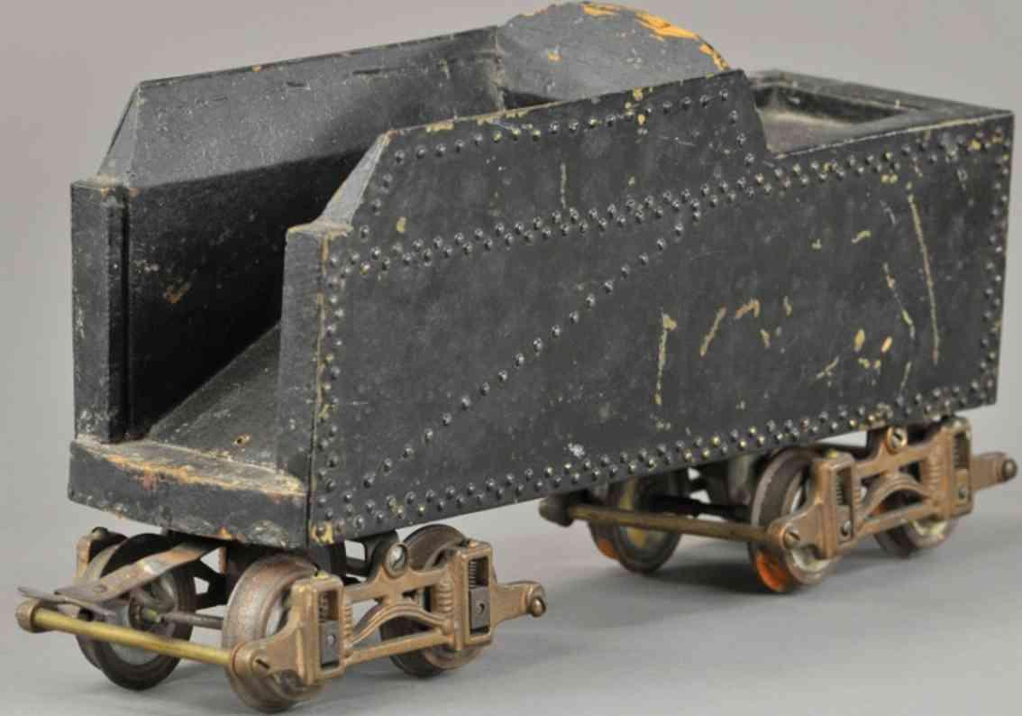 voltamp eisenbahn tender metall holz schwarz lok 2500