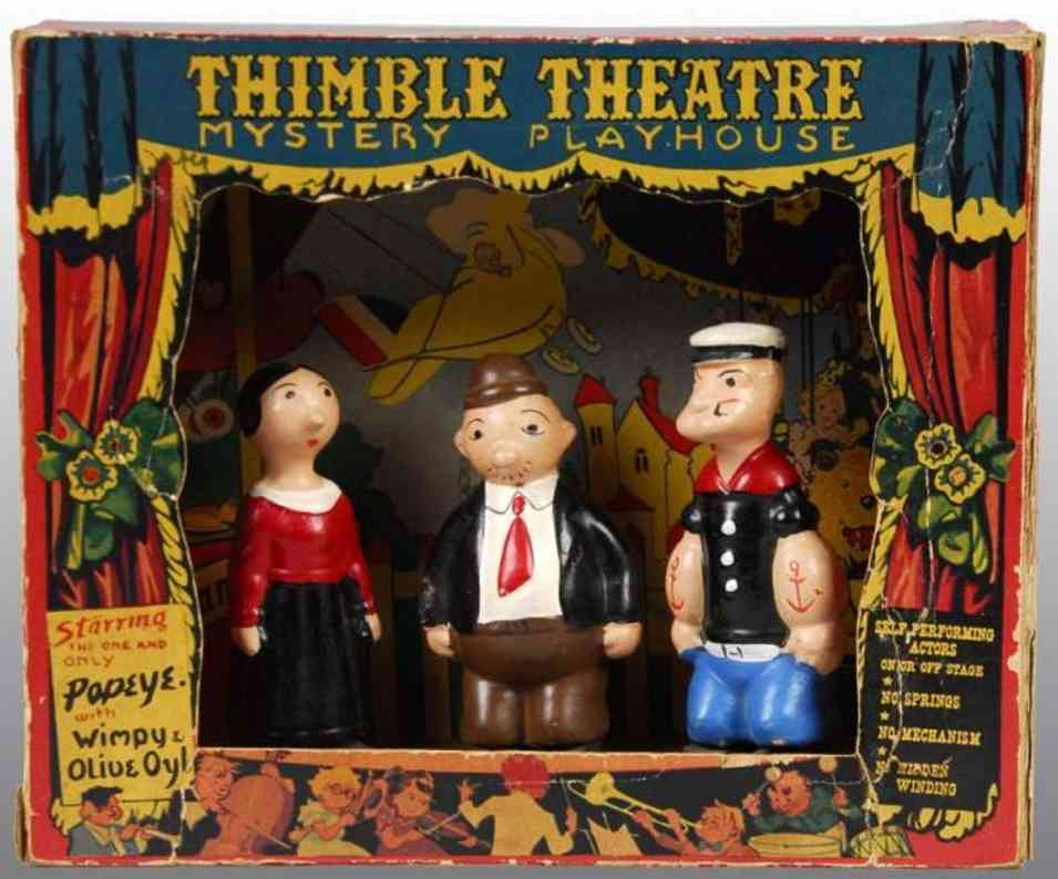Harding Products Popeye Ramp Walkers & Thimble Theater