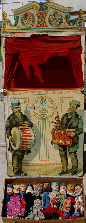 Theater Viktorianische Edwardian JW Spears Kasperle und Gretel