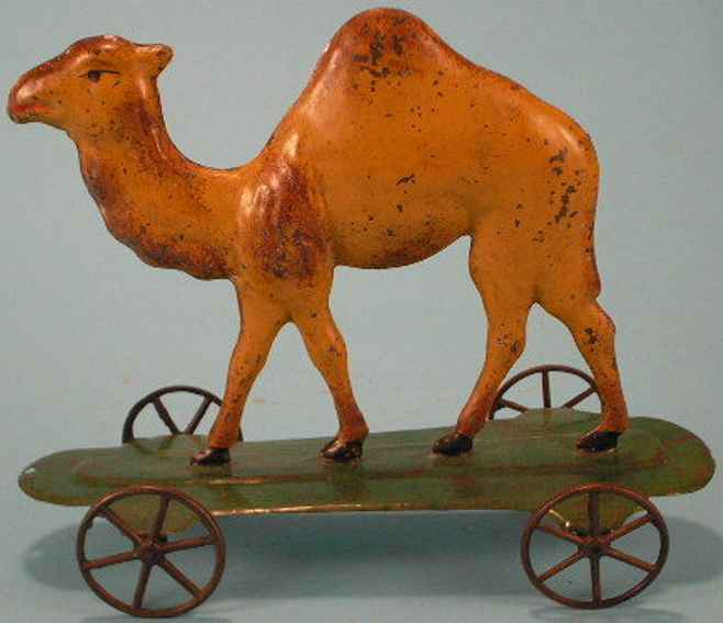bergmann althof tin camel on platform