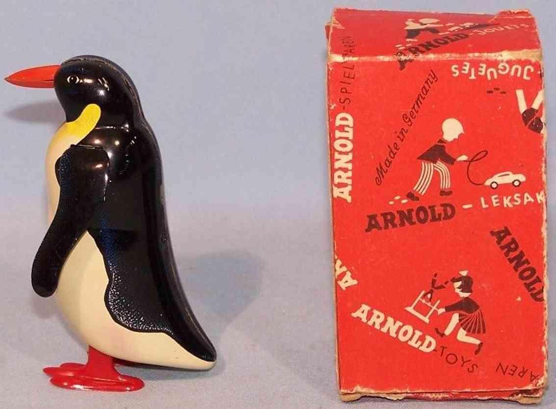 arnold 100 blech spielzeug pinguin uhrwerk