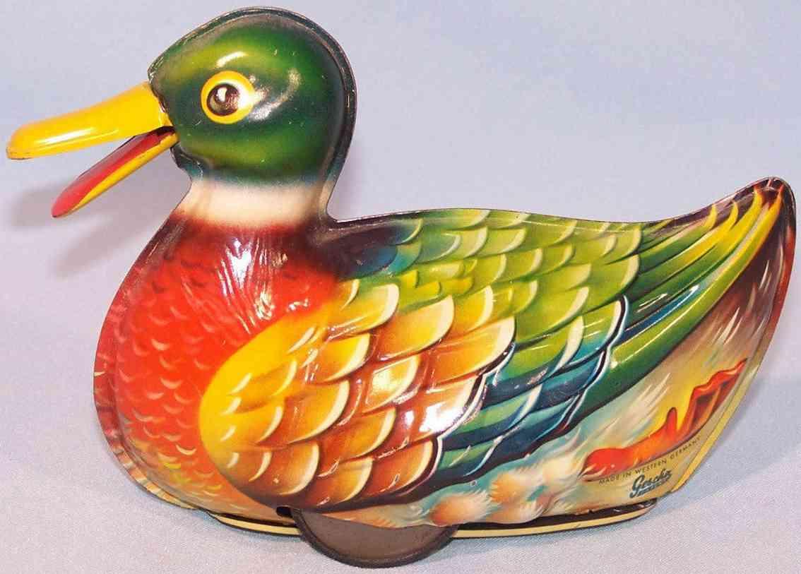 gescha tin duck flywheel drive