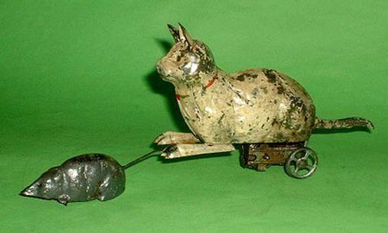 Günthermann Katze jagt Maus