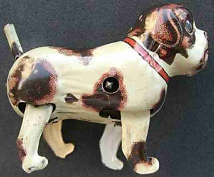 keim 956 tin toy dog with clockwork