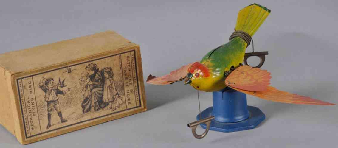 lehmann blechvogel papier fluegel