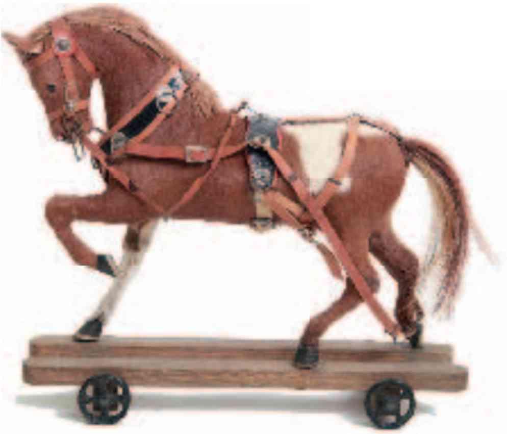 marklin maerklin 1491 tin toy coat horse for coaches fire engines