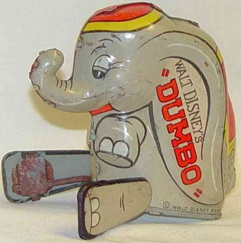 marx louis blech tier dumbo der akrobatische elefant