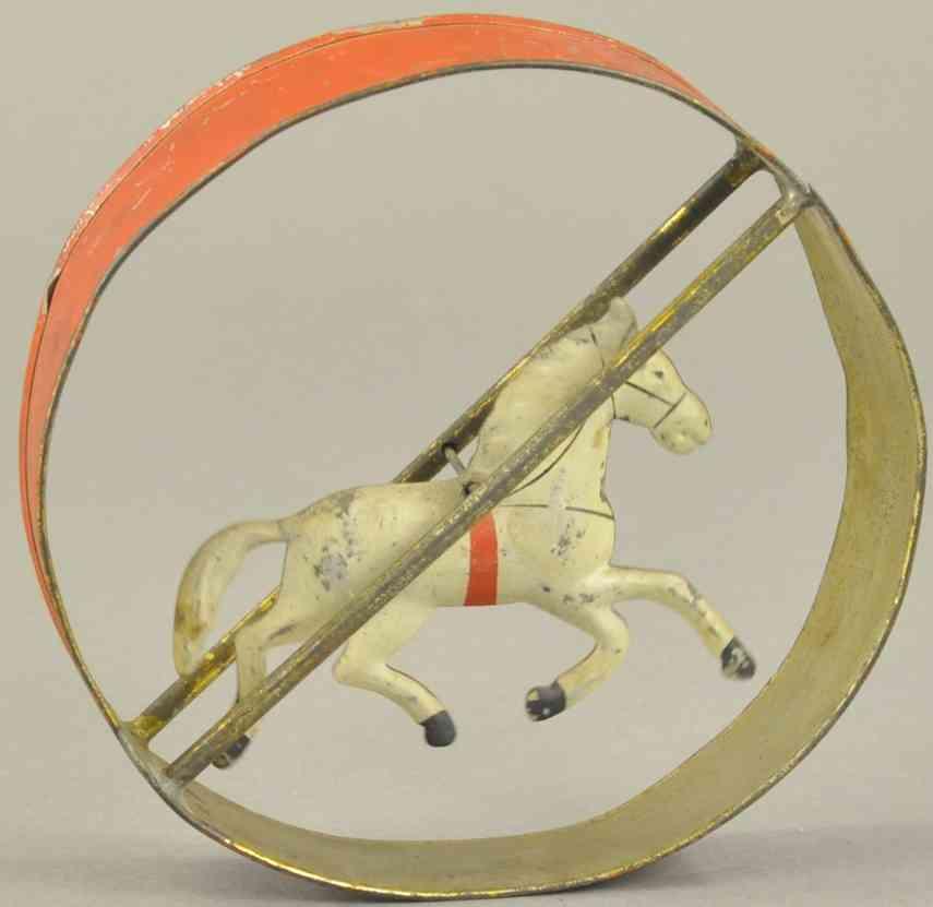 merriam blech spielzeug pferd im laufrad