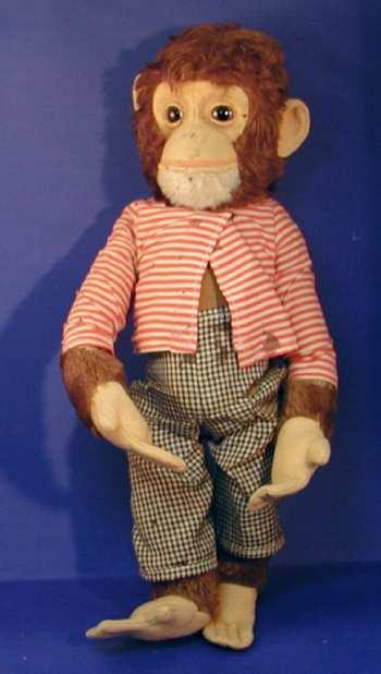Schuco 7136 Tricky-Schimpansen mit Patent-Kopfbewegung