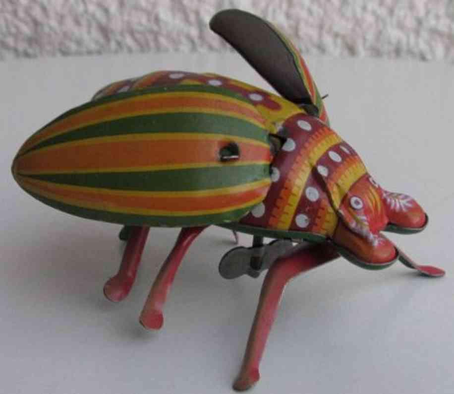 yonezawa  blech spielzeug käfer mit uhrwerk