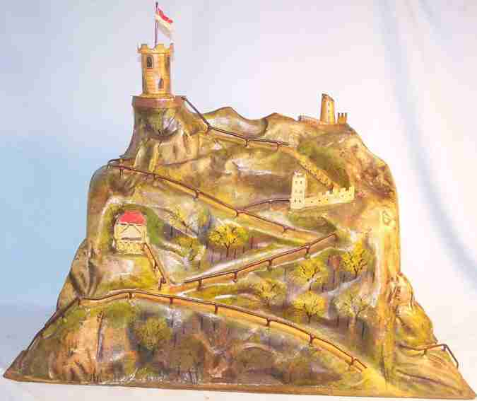 maerklin marklin 2523/1 tunnel with mountain landscape and tower