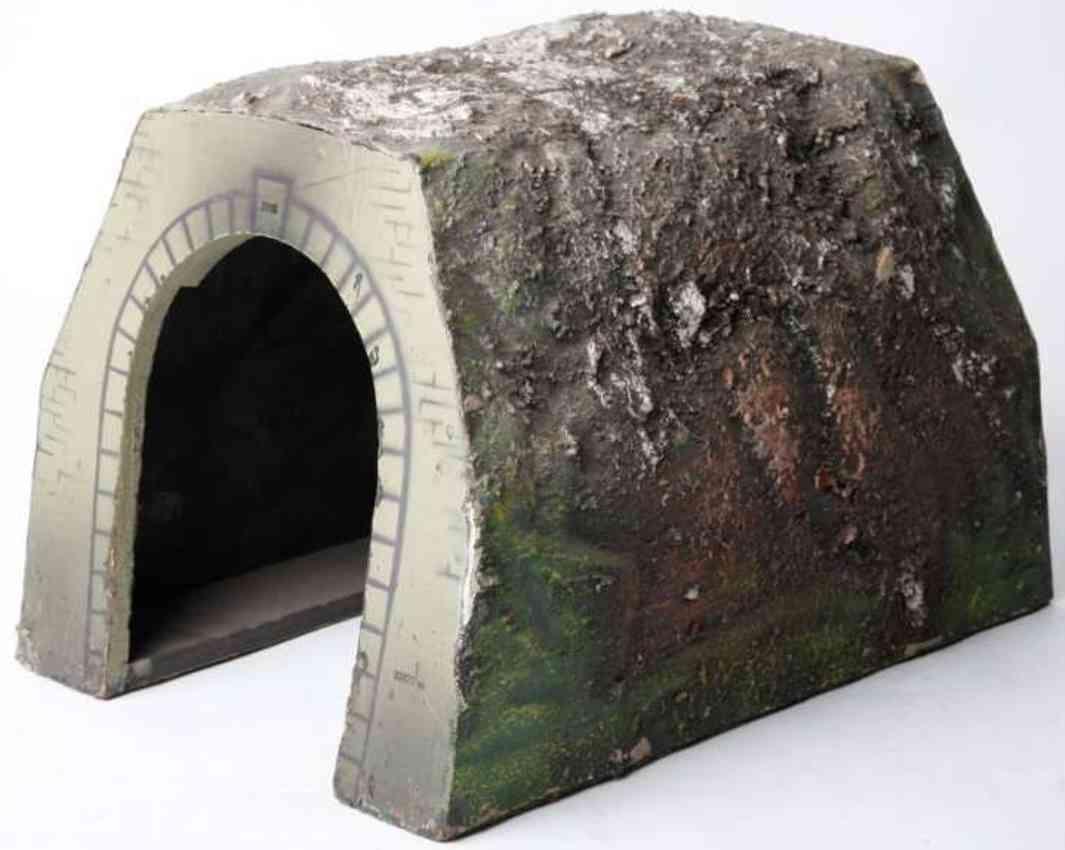 marklin maerklin 2537/1 railway toy tunnel cardboard