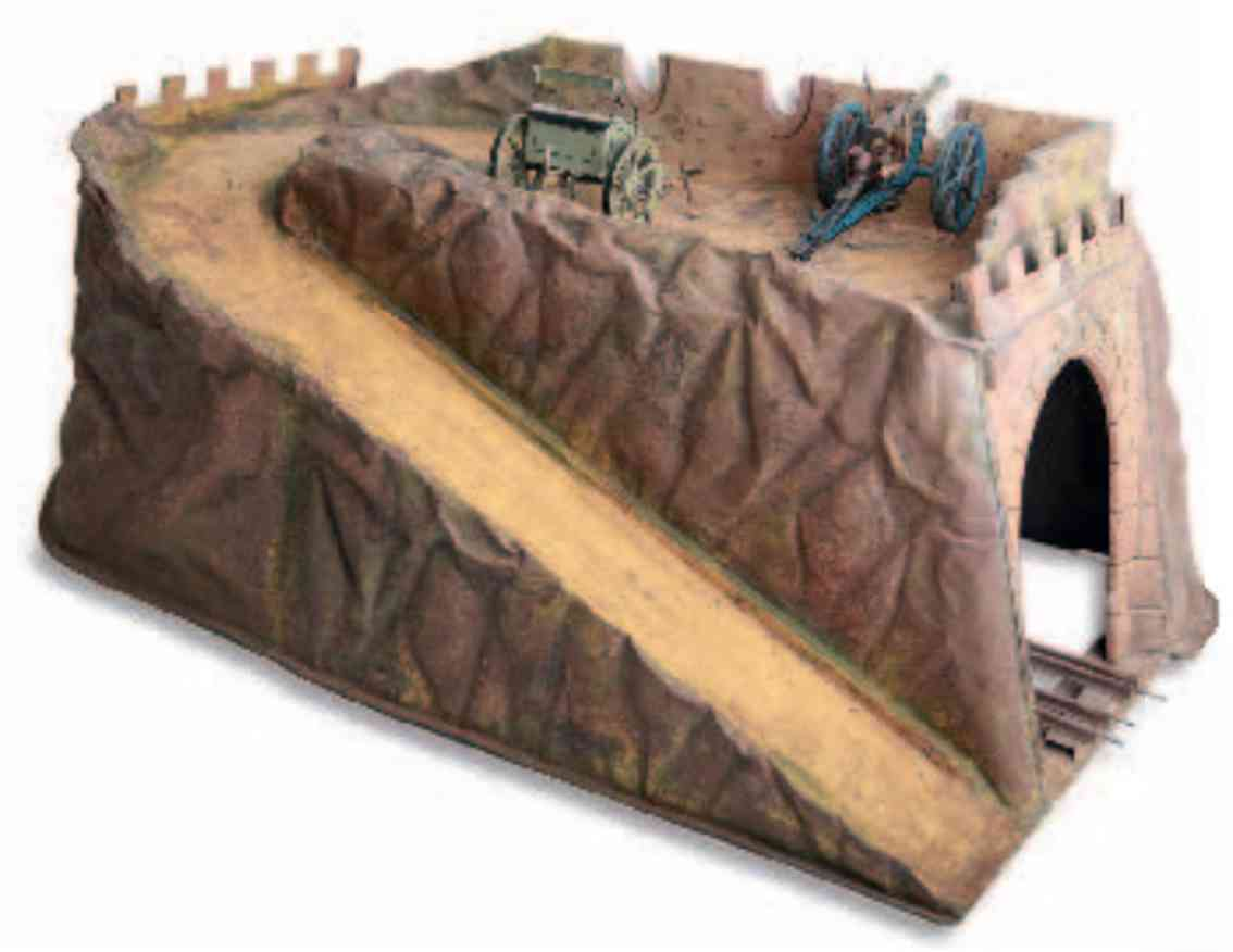 marklin maerklin 2252/3 railway toy tunnel tunnel as fortress wall gauge 1 and 2