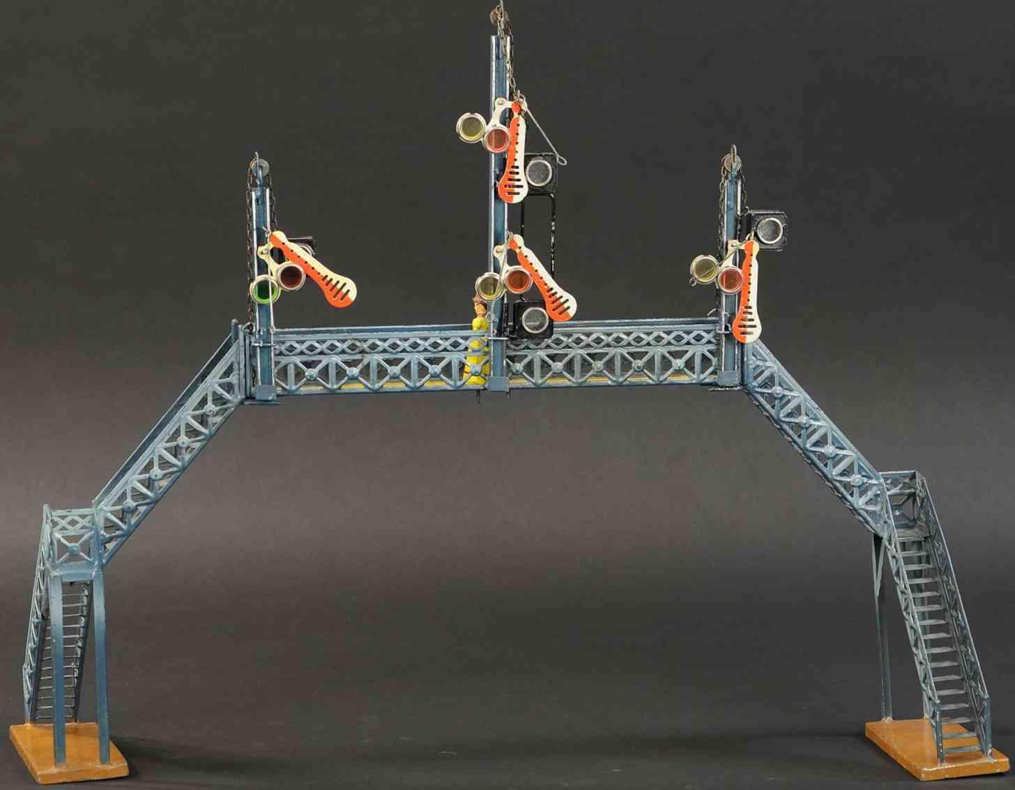 marklin maerklin 2394/1 railway toy gangway signal bridge