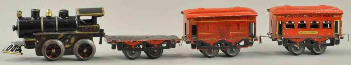 ammr american miniature railroads spielzeug eisenbahn pesonenzug spur 0