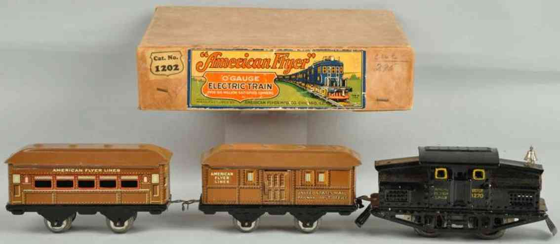 American Flyer Toy Company 1202 1270 Elektropersonenzug