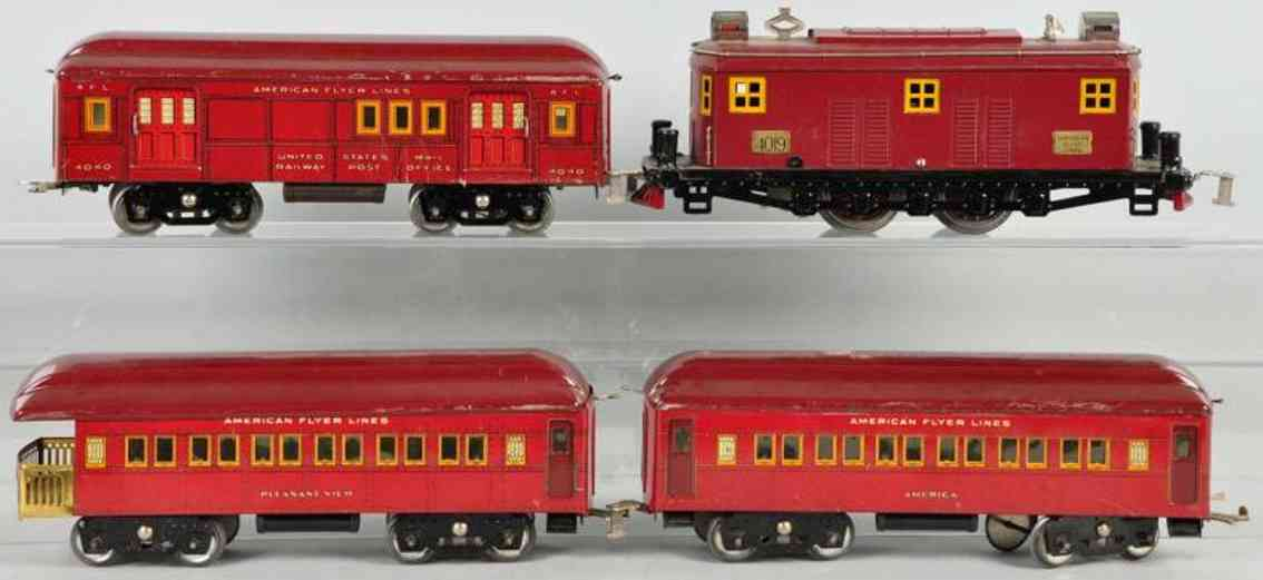 American Flyer Toy Company 1433 4019 4040 Personenzug The Flyer Limited