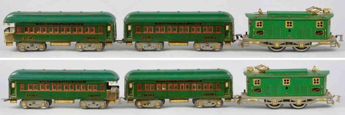 American Flyer Toy Company 1472 Adler Personenzug