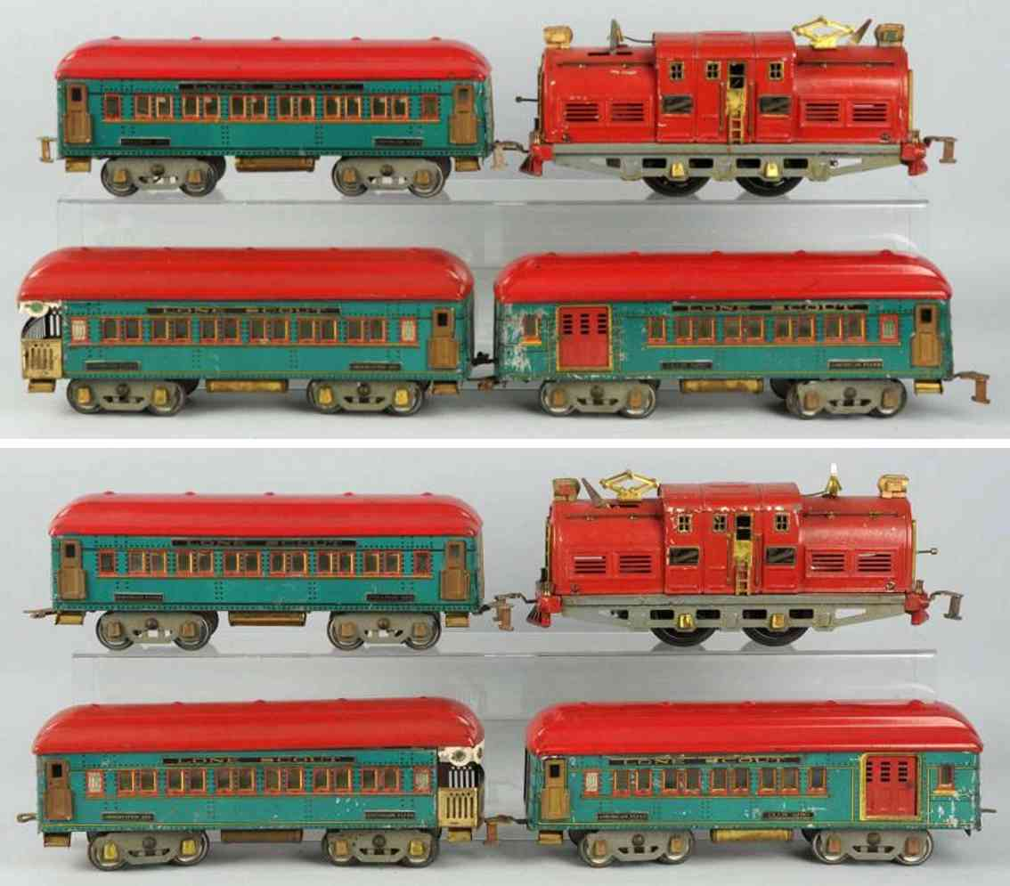 american flyer 4180 personenzug 4635 4250 4251 4253 wide gauge