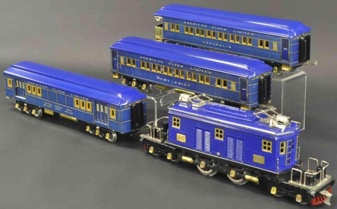 american flyer 4689 4090 4091 4092 eisenbahn praesidentenzug blau wide gauge