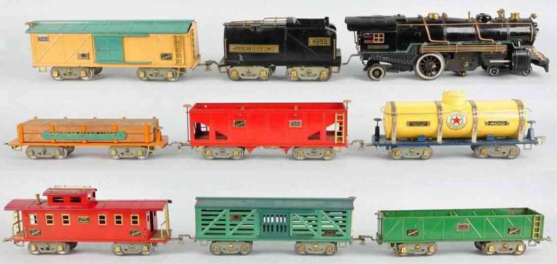 American Flyer Toy Company 4692 Güterzug Grand Canyon 4020 4021 4006 4010