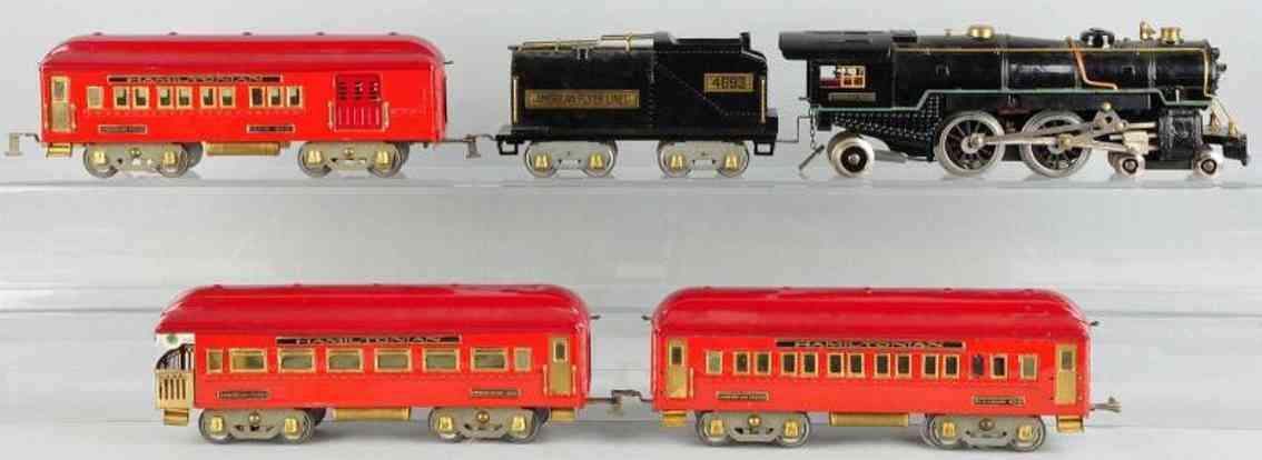 american flyer 4693 personenzug 4340 4341 4342 standard gauge