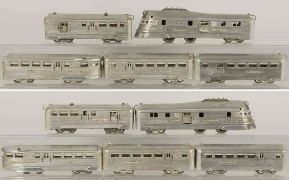 American Flyer 608W Streamline train set 9900