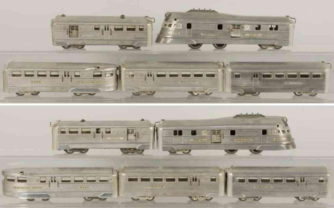 American Flyer 608W Streamline train set 9900