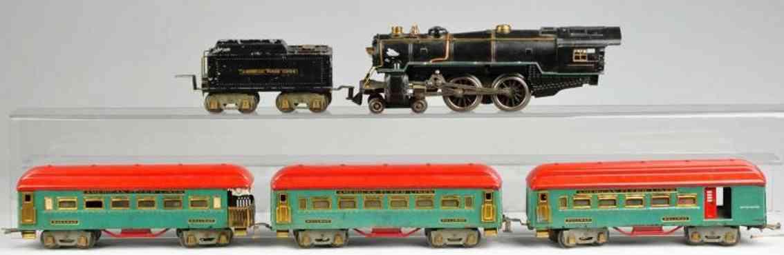 American Flyer Toy Company Personenzug