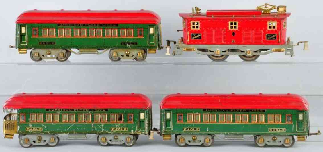 American Flyer Toy Company Adler Personenzug