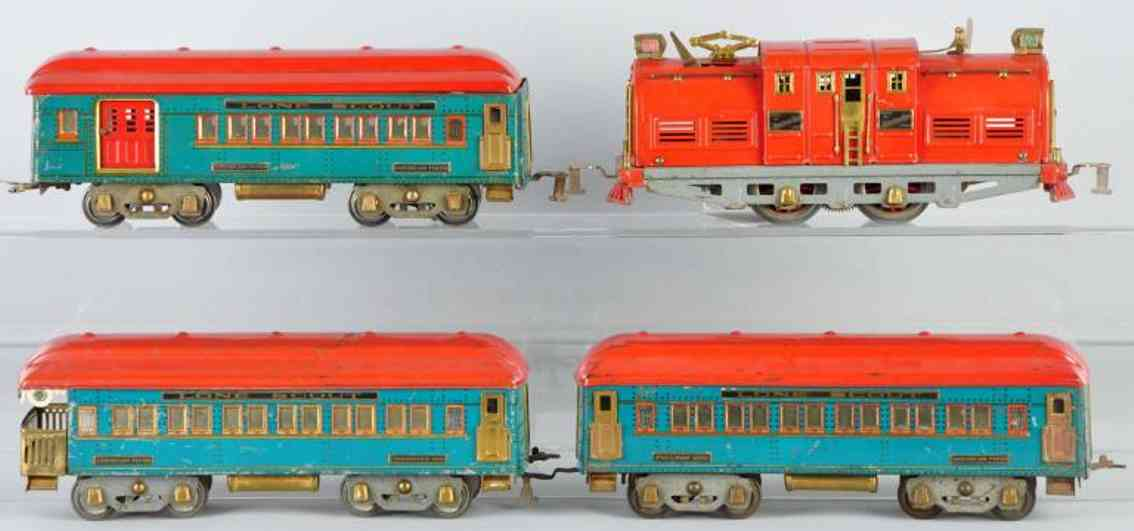 American Flyer Toy Company Lone Scout Personenzug