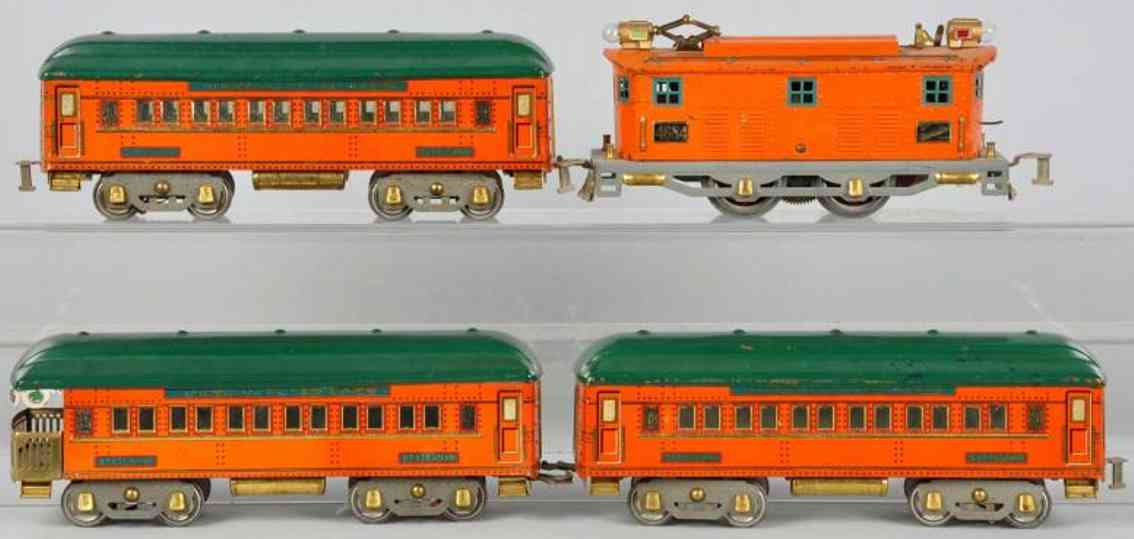 American Flyer Toy Company 1473 Personenzug The Statesman 4684