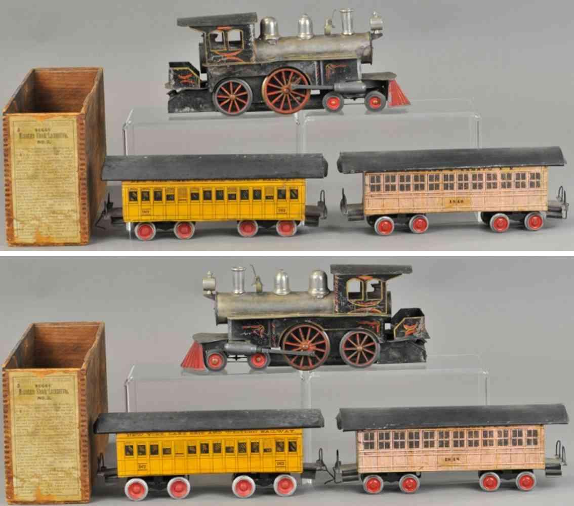 beggs eugene  personenzug echtdampflokomotive 3