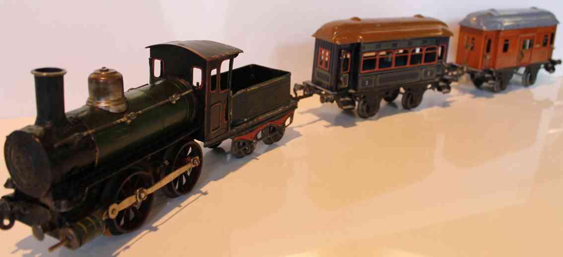Bing 8409 Zug Pesonenwagen 10366 10392