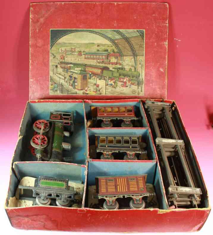 bing spielzeug eisenbahn zugpackung lokomotive spur 0
