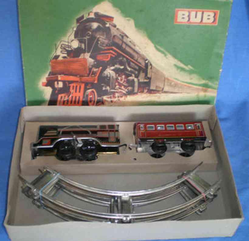 Bub 110/3 Zugpackung Kaufhaus-Eisenbahnset