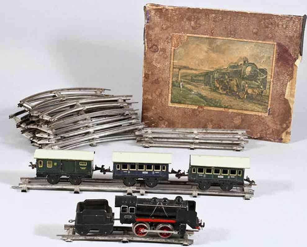karl bub spielzeug eisenbahn zugpackung schlepptenderlokomotive spur 0