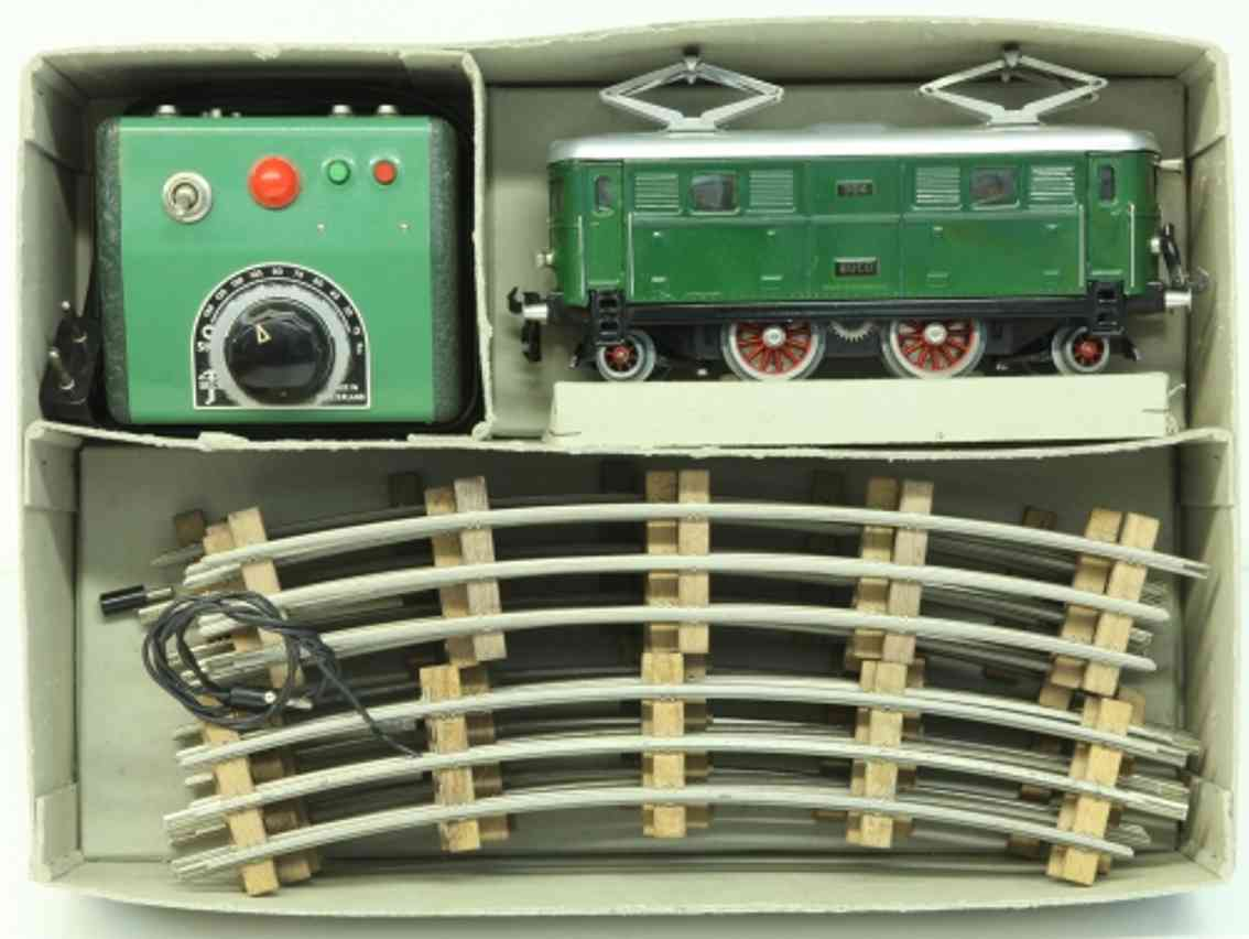 buco bucherer 1002 spielzeug eisenbahn zugpackung elektrolokomotive 304 spur 0