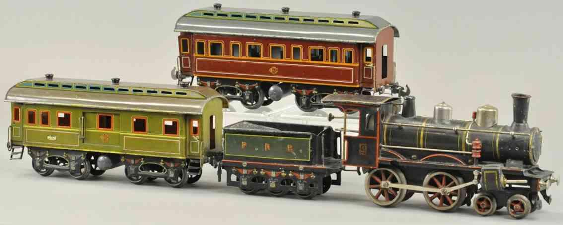 carette personenzug amerikanischer markt damplokomotive spur 0