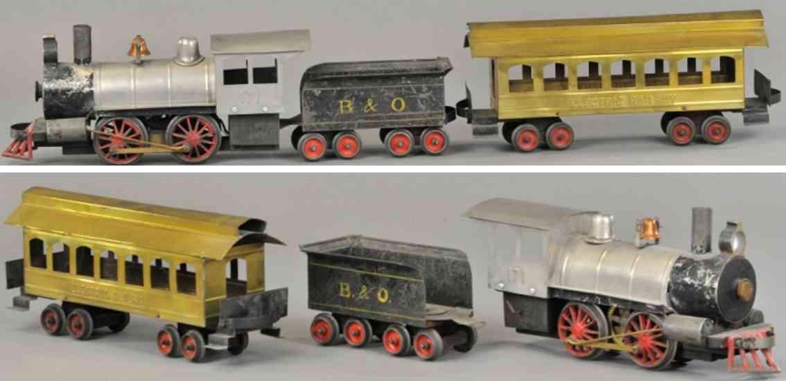 carlisle & finch zug lokomotive 4 wagen 13