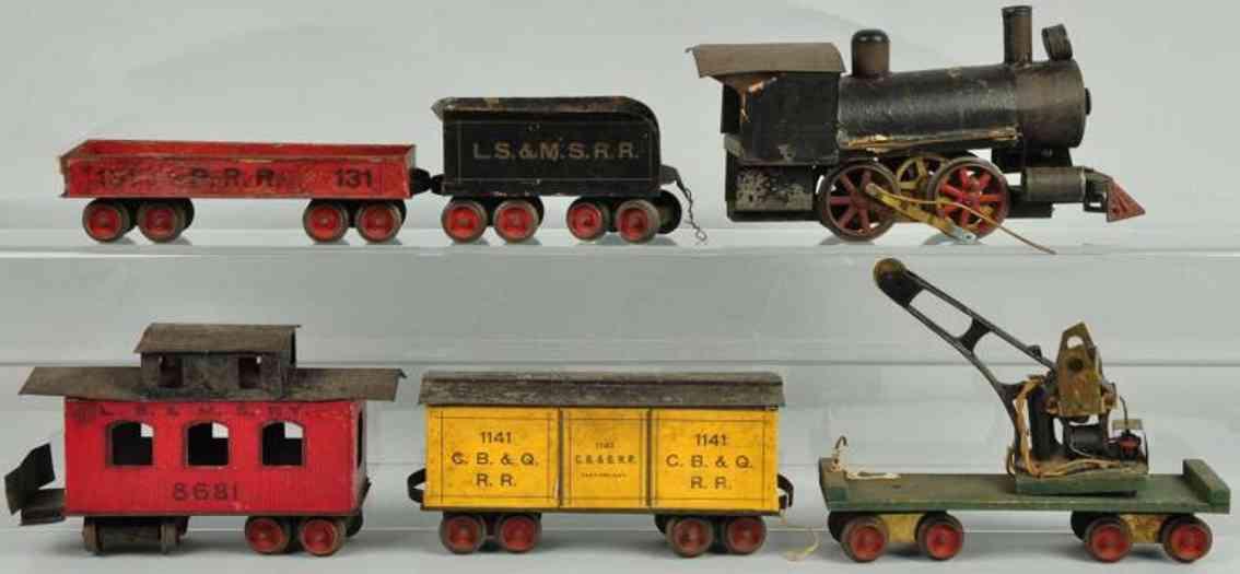 Carlisle & Finch Uhrwerk-Güterzug 1141 131