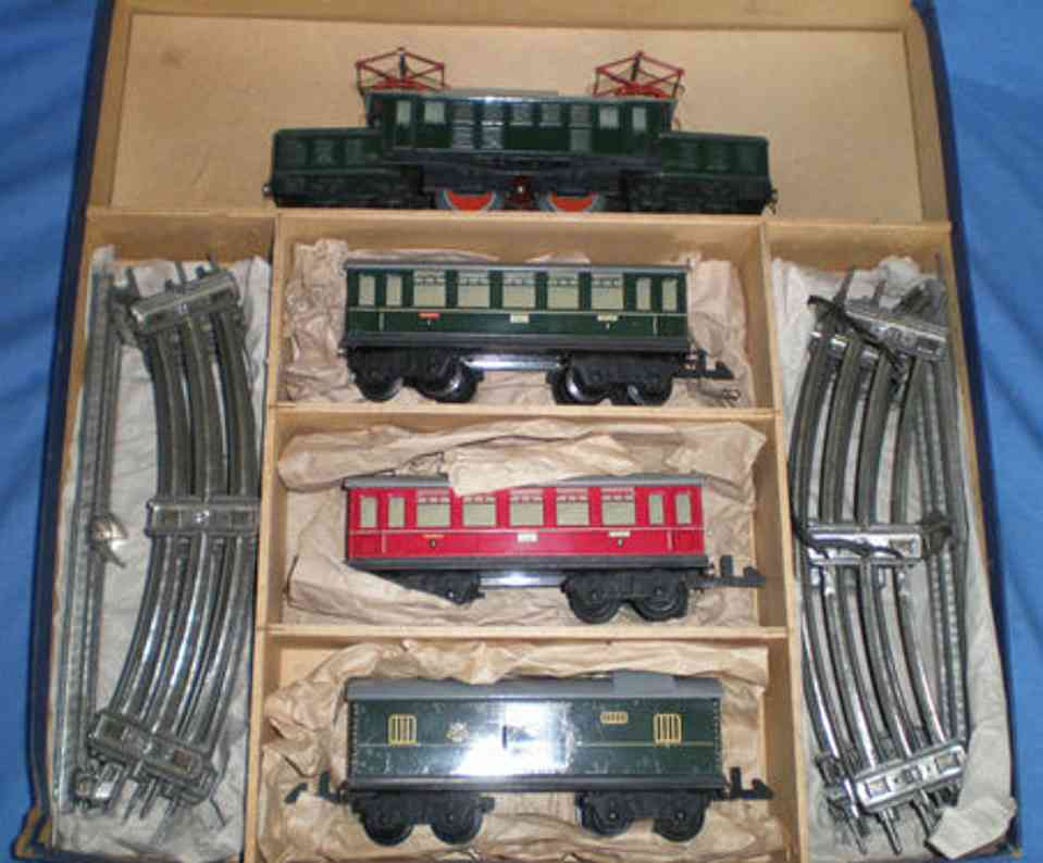 distler e 34 railway toy train set electric crocodile locomotive gauge 0