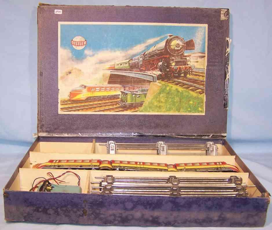 distler railway toy train start packing diesel multiple unit gauge 0