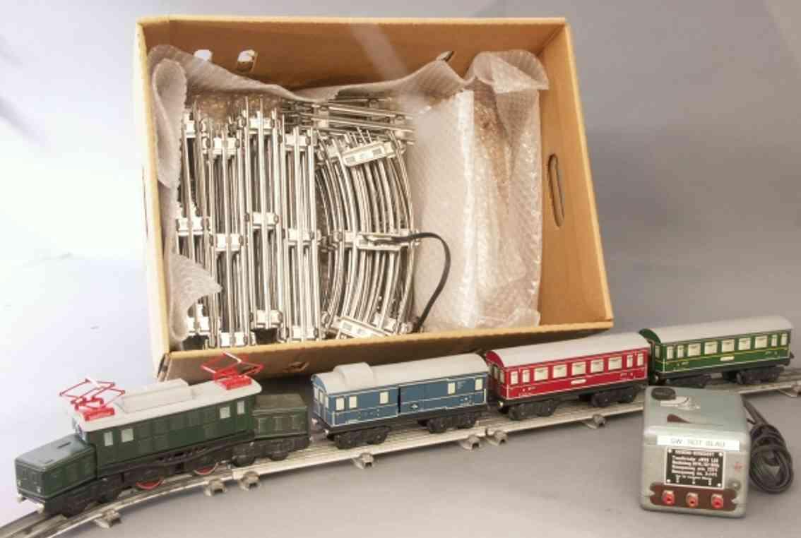 distler el 34/4 railway toy train package gauge 0