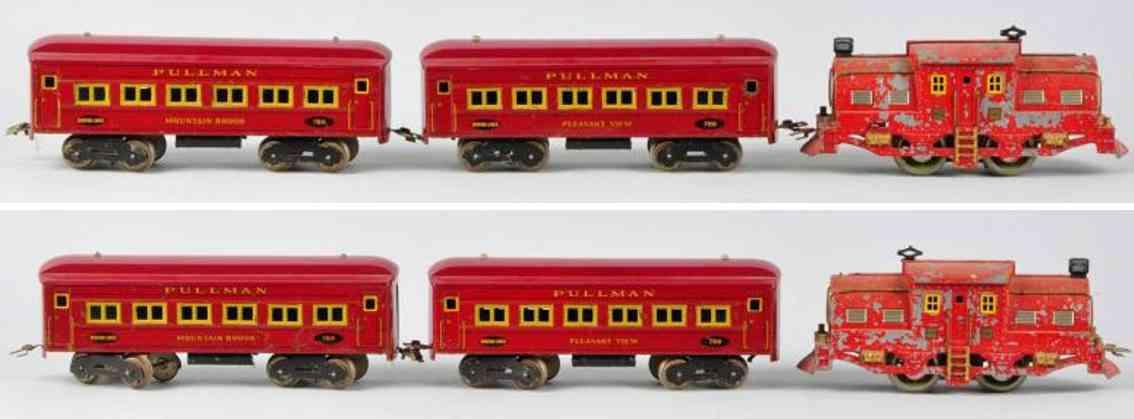 Dorfan 789 790 Passenger train set