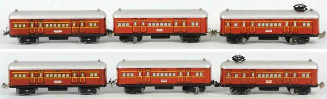 ferris bros c3469 t4565 railway toy electric passenger train set