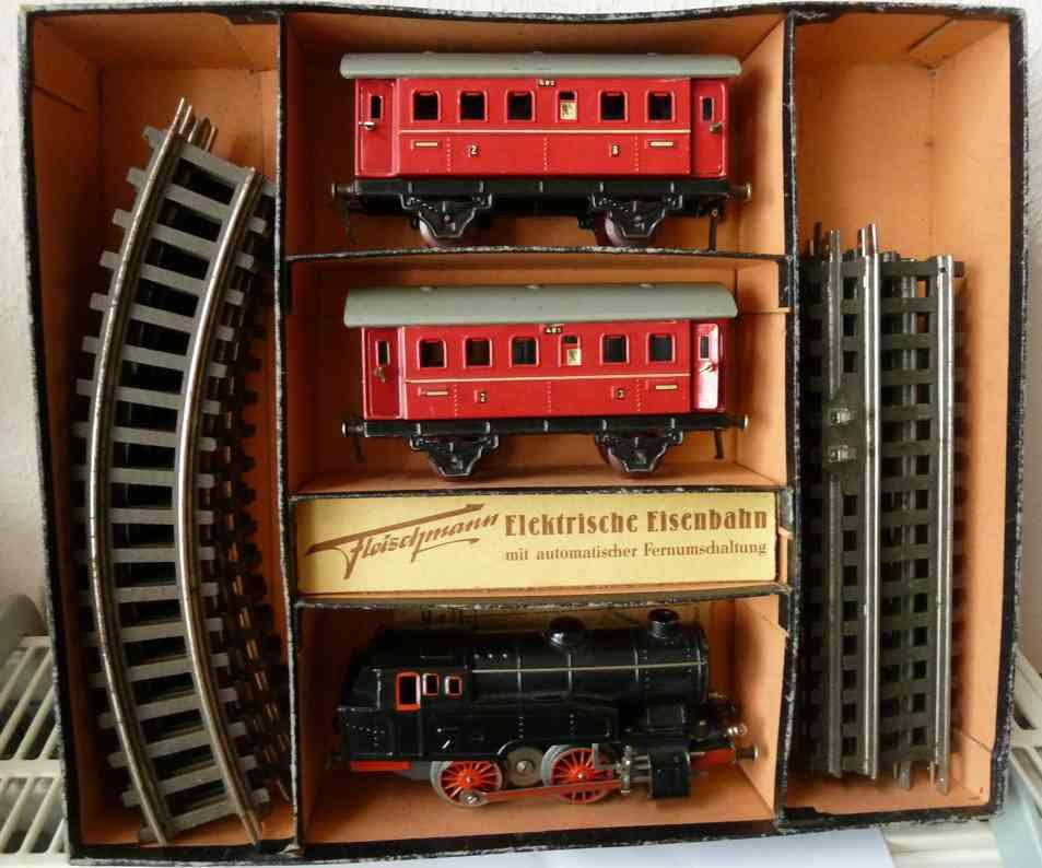 fleischmann e 320/2 r spielzeug eisenbahn zugpackung
