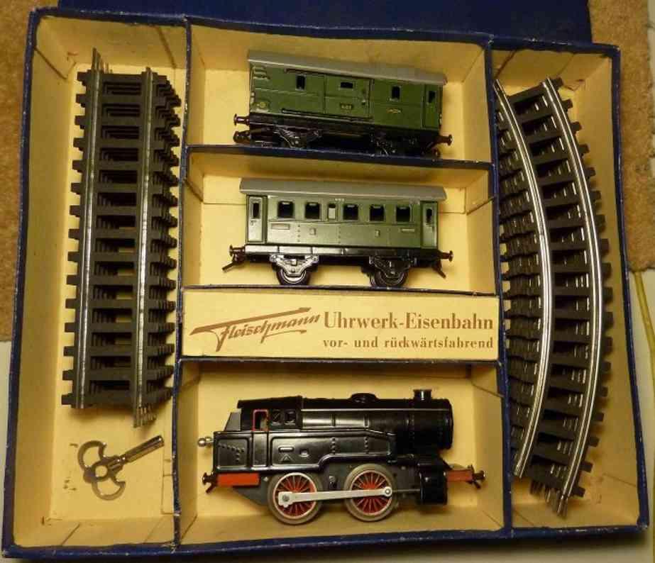 fleischmann u 320/2 spielzeug eisenbahn zugpackung Wagen 400 401