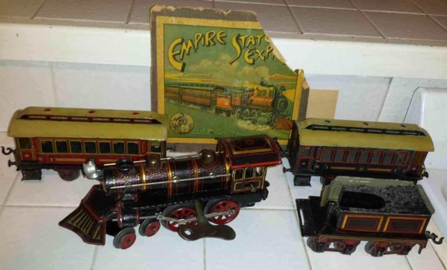 guenthermann railway toy american passenger train empire state express gauge 0