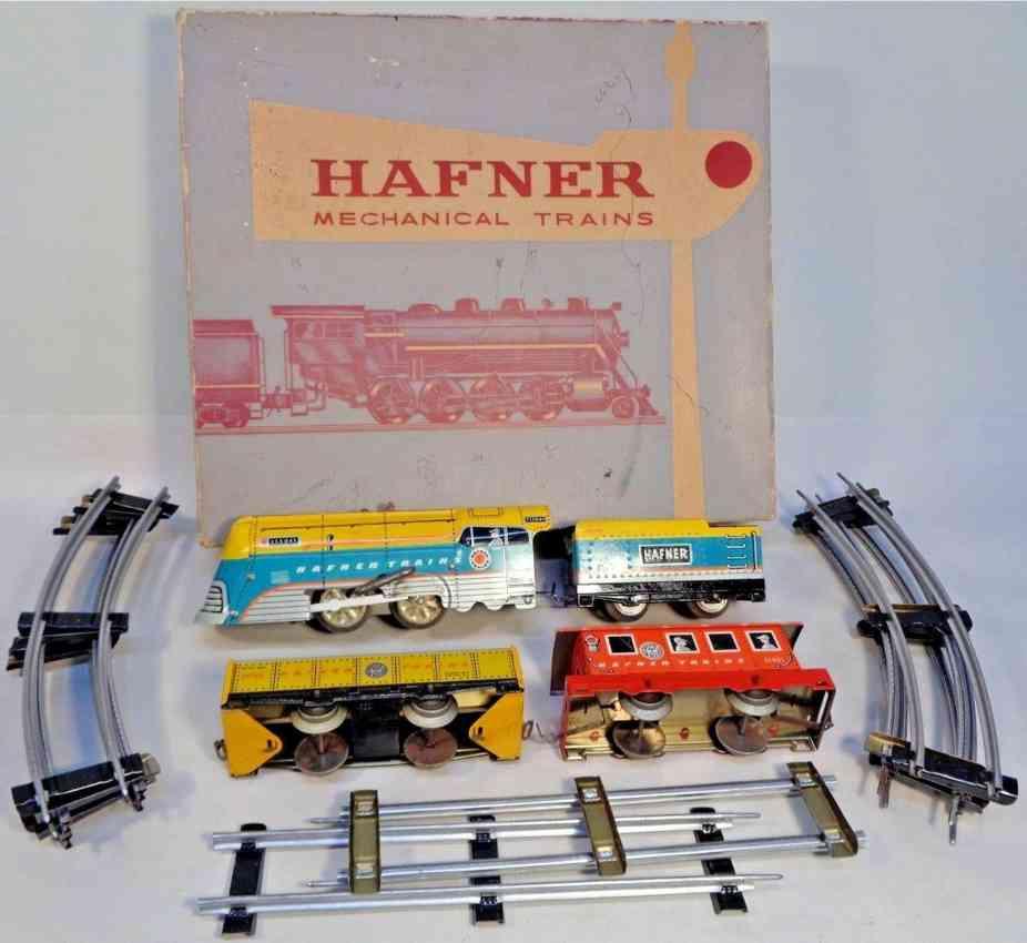 hafner wyandotte 2157 frachtzug lok 115041 tender78100 wagen 91746 caboose 41021 spur 0